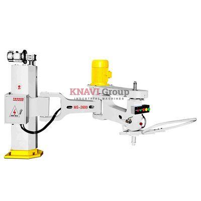 Manual stone polishing machine