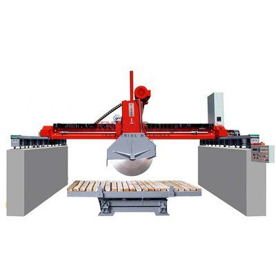 Bridge-type stone block cutting machine