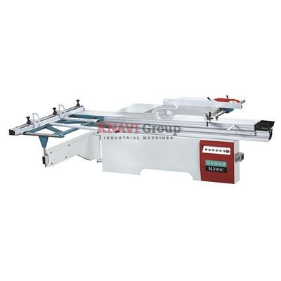 Sliding table panel saw