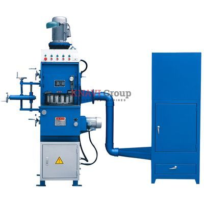 Spring-end grinding machine