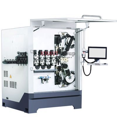 7-axis CNC spring coiling machine