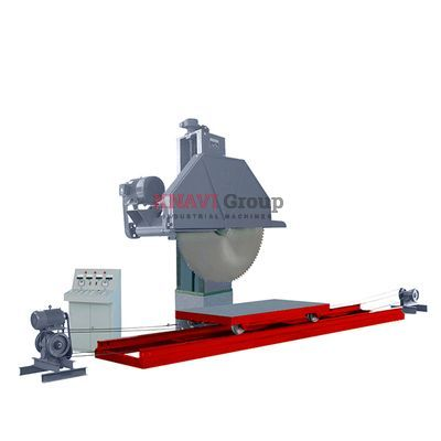 Single column single-blade block cutting machine