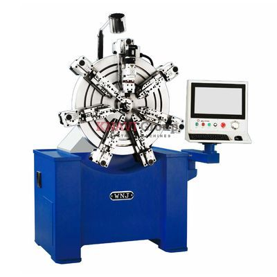10-axis CNC spring forming machine
