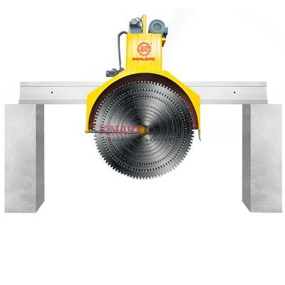Disc-saw stone cutting machine