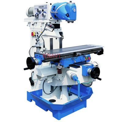 Universal swivel head milling machine