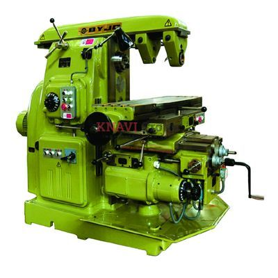 Knee-type universal milling machine