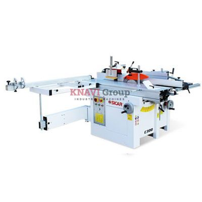 Universal combined woodworking machine