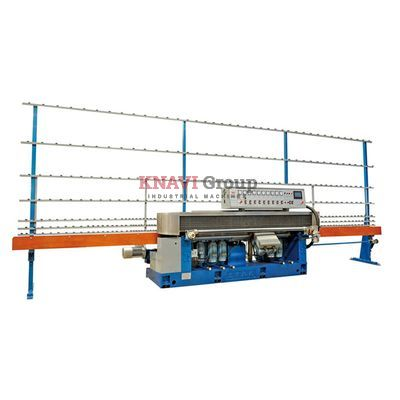 Straight line beveling machine