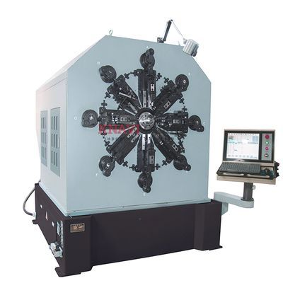12-axis camless CNC spring forming machine