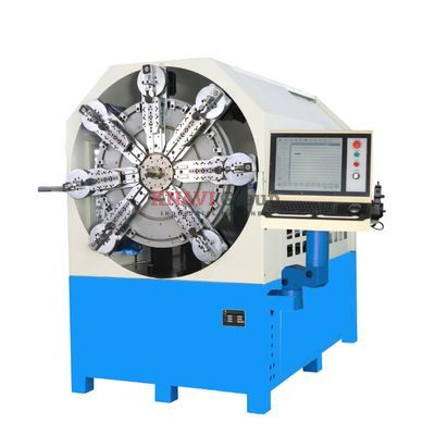 12-axis CNC spring forming machine