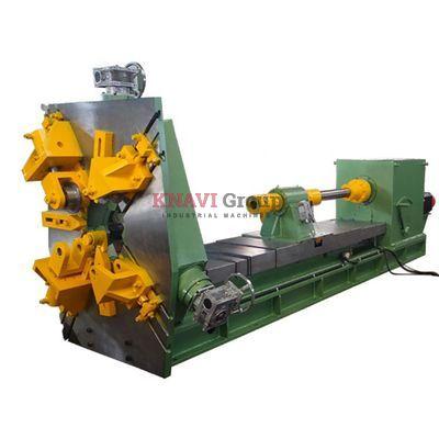 CNC hot-coiling spring machine