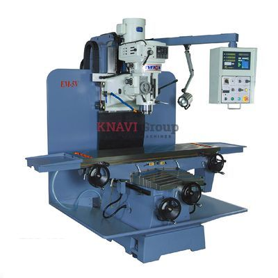 Heavy-duty bed-type vertical milling machine