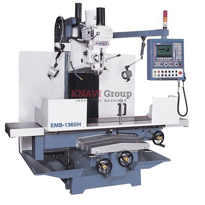 Bed-type CNC vertical milling machine