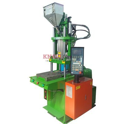 Vertical injection molding machine