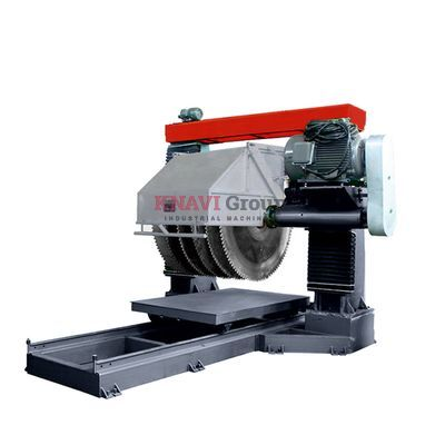 Gantry-type stone cutting machine